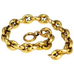Vintage 15 Carat Gold Bracelet