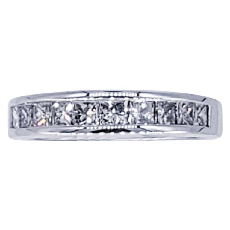 Vintage 1.50 Carat Diamond Wedding Ring