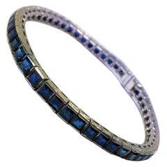 Sapphire Link Bracelets
