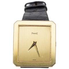 Vintage 18 Karat Gold Piaget Wristwatch, 1980s