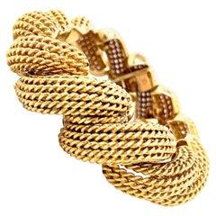Vintage 18 Karat Yellow Gold Bracelet