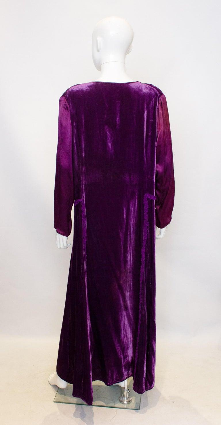 Black Vintage 1920s Dress with Faux Bolero For Sale