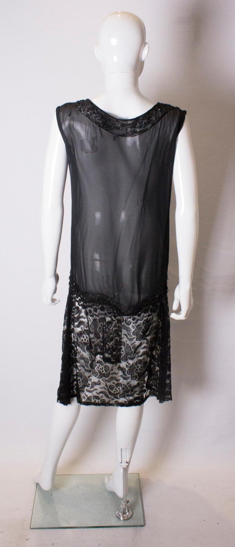 Vintage 1920s like Cocktail Dress For Sale 2
