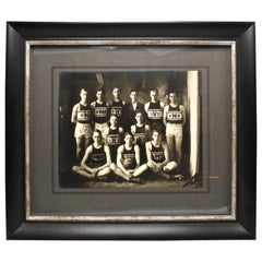 Vintage 1920s W.H.S. Basketball Team Photograph