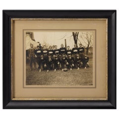 Vintage 1920s W.H.S Football Team Photograph
