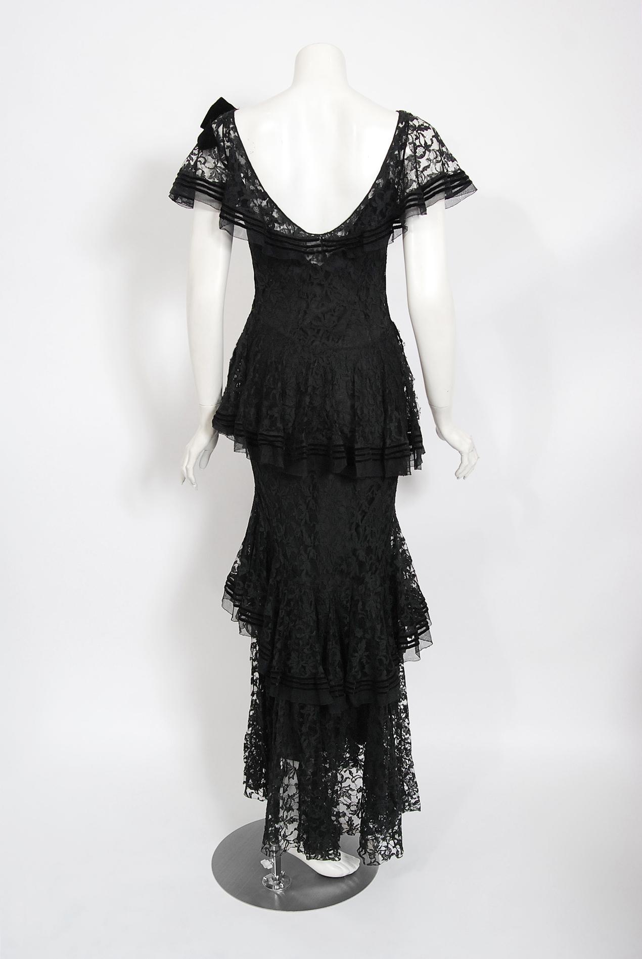 beaded bias cut dress 1990s black draped backless bias cut dress medium large 90s does 1920s vintage clothing women