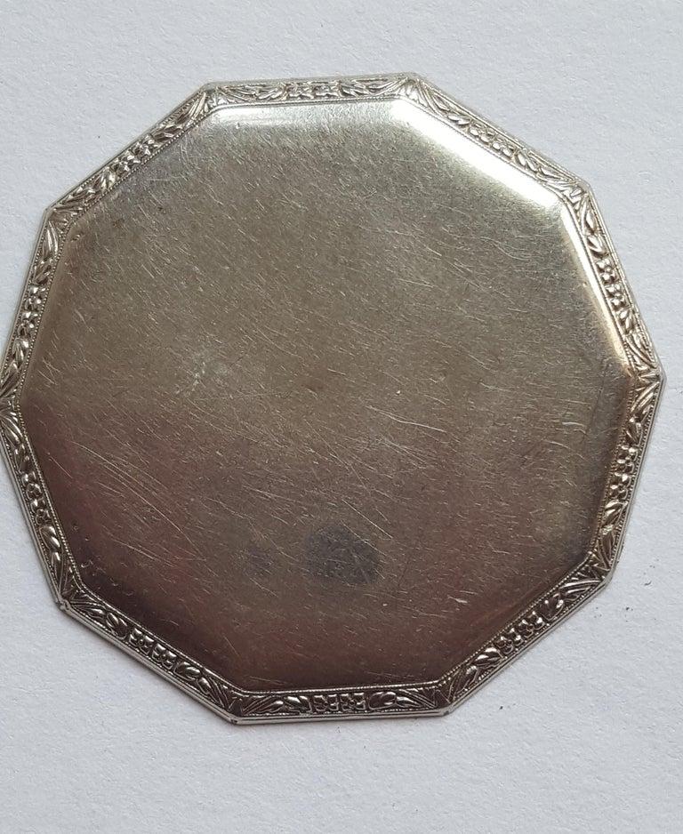 1930s Hamilton 14 Karat Gold Filled Pocket Watch, Grade 912, Rotating Second In Good Condition For Sale In Rancho Santa Fe, CA