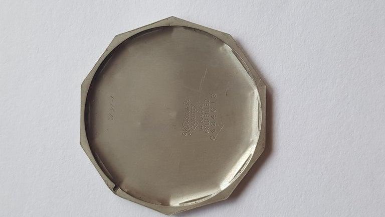 1930s Hamilton 14 Karat Gold Filled Pocket Watch, Grade 912, Rotating Second For Sale 2