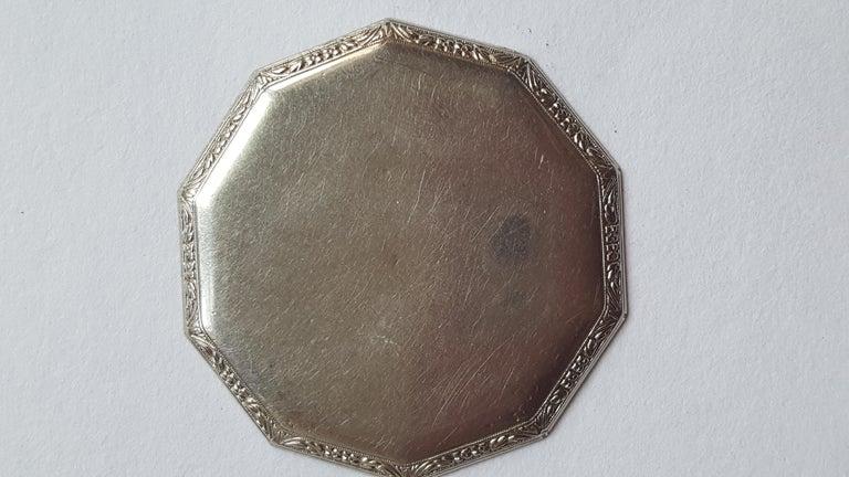 1930s Hamilton 14 Karat Gold Filled Pocket Watch, Grade 912, Rotating Second For Sale 4