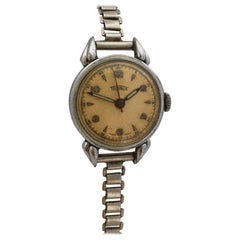 Vintage 1930s Mechanical with Sweep Seconds Swiss Ladies Watch