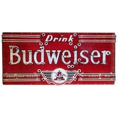 Vintage 1930s Neon 'Budweiser' Sign