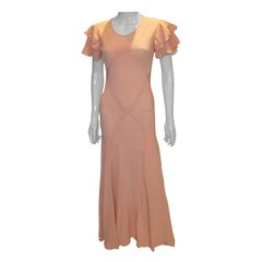 Vintage 1930s Pink Gown