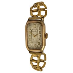 Vintage 1930s Rolled Gold Ladies Manual Wristwatch