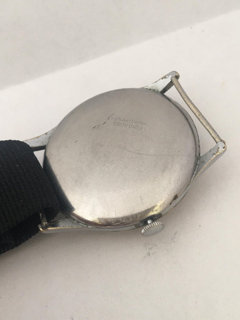 Vintage 1940s ANCRE Mechanical Watch For Sale 8