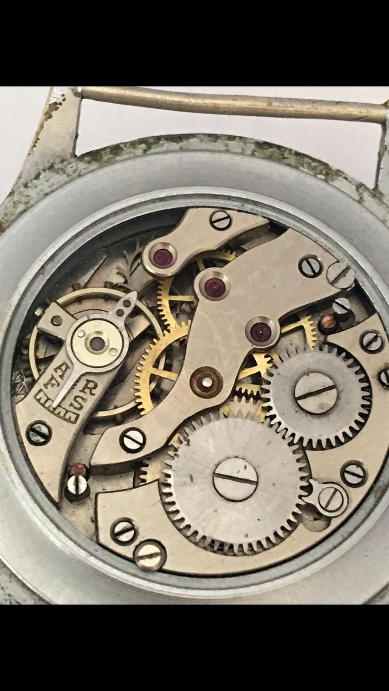 Vintage 1940s ANCRE Mechanical Watch For Sale 11