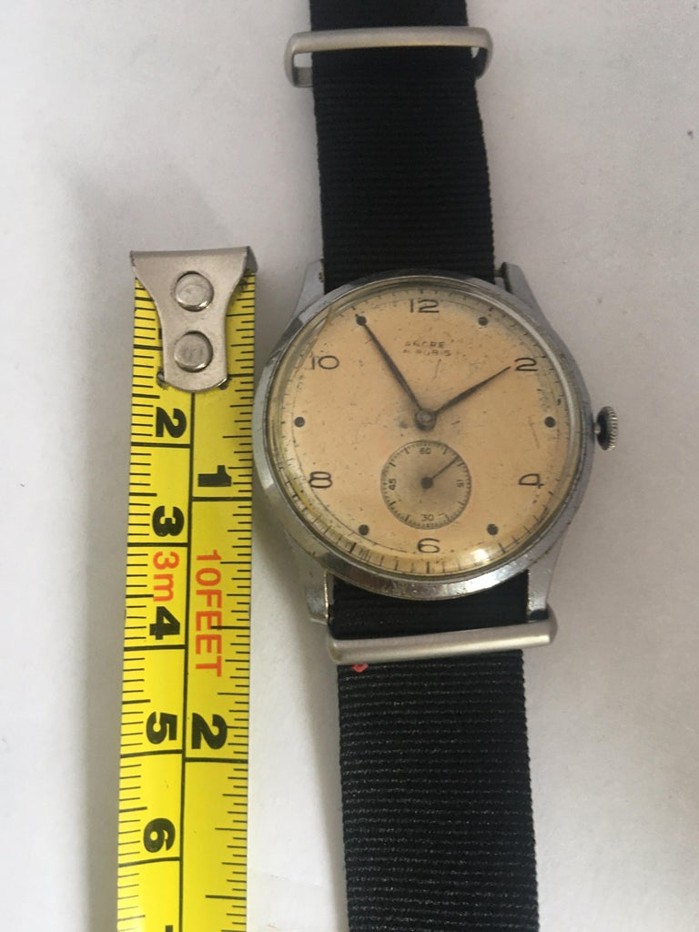 Vintage 1940s ANCRE Mechanical Watch For Sale 3