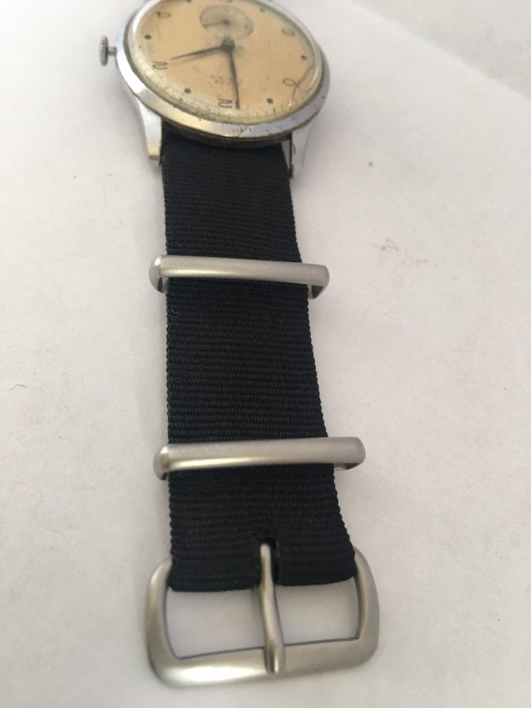Vintage 1940s ANCRE Mechanical Watch For Sale 5