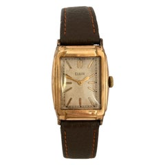 Vintage 1940s Gold-Plated Manual Mechanical Watch