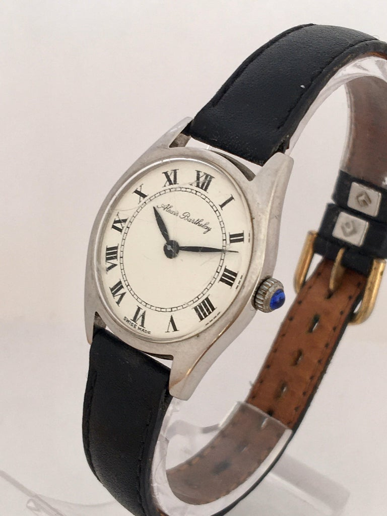Vintage 1940s Mechanical Watch For Sale 7