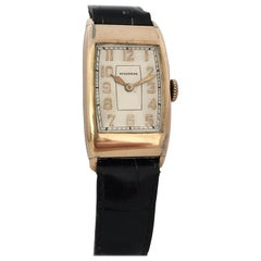 Vintage 1940s Rolled Gold Waltham Manual Winding Watch