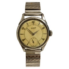 Vintage 1940s Tissot Stainless Steel Watch