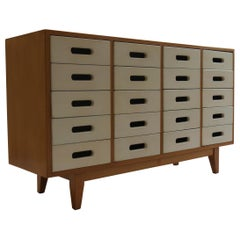 Vintage 1950s Chest of drawers by James Leonard for Esavian ESA 2