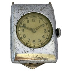 Vintage 1950s Clip-On / Brooch Mechanical Watch