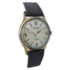 Vintage 1950s Gold-Plated Bennett Sportsman Mechanical Watch