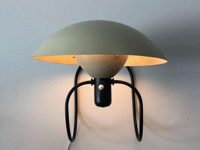 Vintage 1950s Greta Von Nessen Anywhere Lamp Wall Sconce Table Light In Good Condition For Sale In St.Petersburg, FL