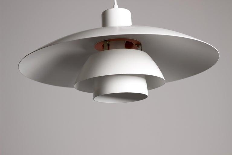 Vintage 1950s Poul Henningsen PH 4/3 Pendant Light for Louis Poulsen For Sale 3