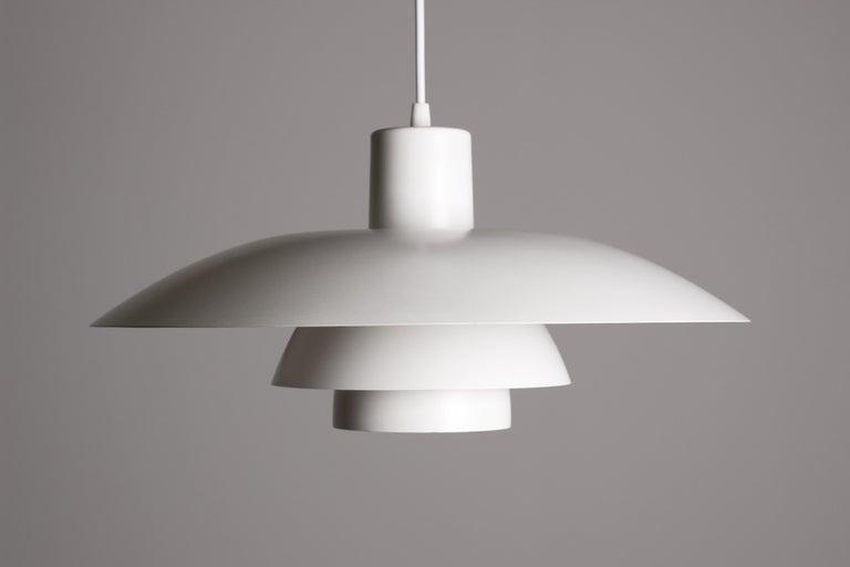Scandinavian Modern Vintage 1950s Poul Henningsen PH 4/3 Pendant Light for Louis Poulsen For Sale