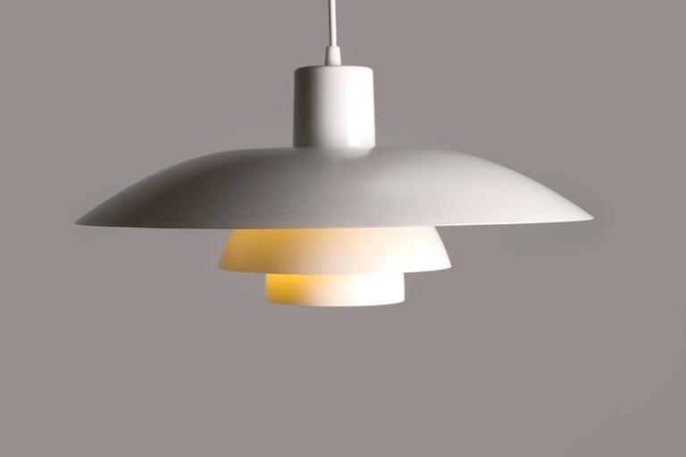 Mid-20th Century Vintage 1950s Poul Henningsen PH 4/3 Pendant Light for Louis Poulsen For Sale