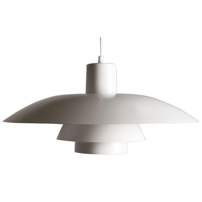 Vintage 1950s Poul Henningsen PH 4/3 Pendant Light for Louis Poulsen For Sale