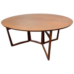 Vintage 1959 Peter Hvidt & Orla Mølgaard-Nielsen Dining Table by France & Son