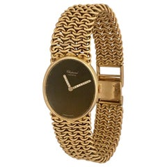 Vintage 1960s 18 Karat Gold and Diamonds Chopard Ladies Mechanical Watch