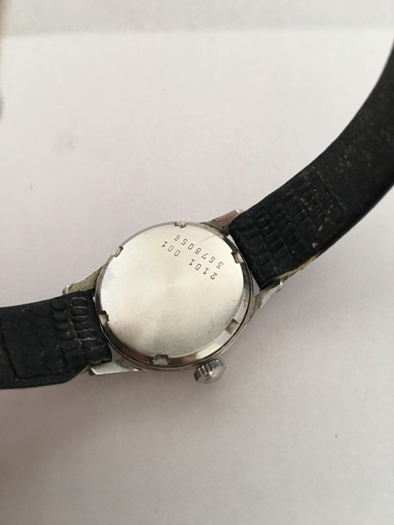 Vintage 1960s Certina Ladies Mechanical Watch For Sale 2