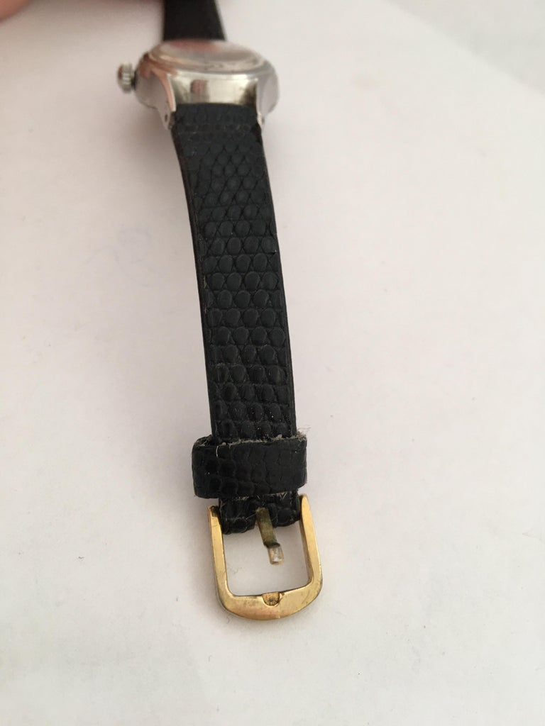 Vintage 1960s Certina Ladies Mechanical Watch For Sale 5
