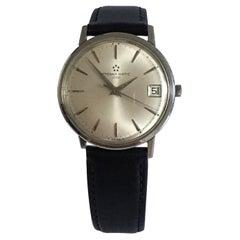 Vintage 1960s Eterna-Matic 3000 Stainless Steel Watch