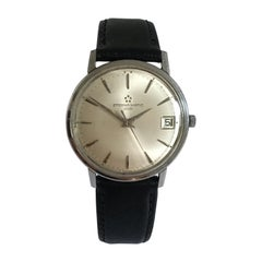 Vintage 1960s Eterna-Matic 3000 Stainless Steel Watch