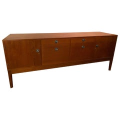Vintage 1960s Finn Juhl for France and Son Diplomat Teak Credenza