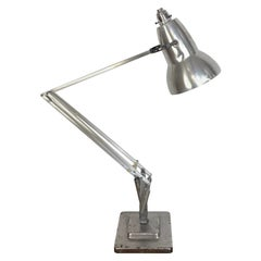 Vintage 1960s George Carwardine for Herbert Terry Stripped Anglepoise Lamp