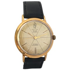 Vintage 1960s Gold-Plated Poljot 29 Jewels Automatic Watch