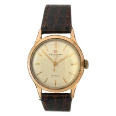 Vintage 1960s Gold-Plated Wille Freres Mechanical Watch