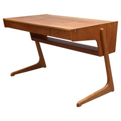 Vintage 1960s Ikea Desk in Teak