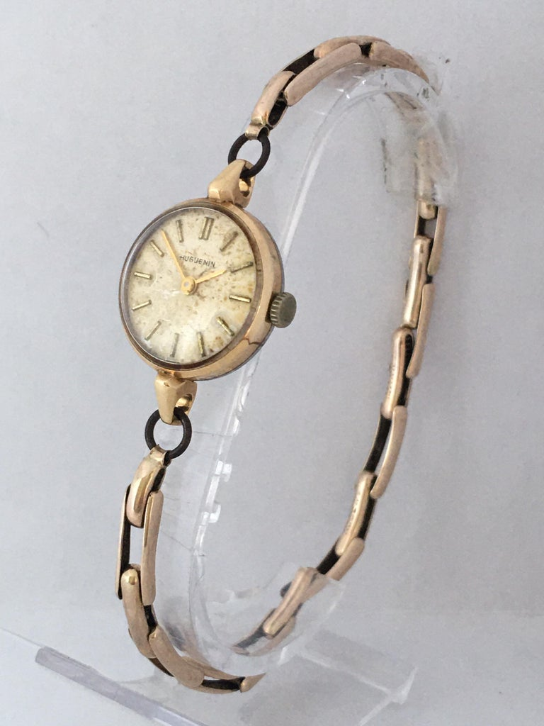 Vintage 1960s Ladies Gold-Filled Mechanical Watch In Fair Condition For Sale In Carlisle, GB