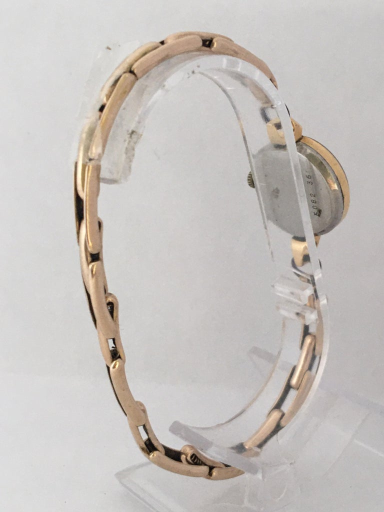 Vintage 1960s Ladies Gold-Filled Mechanical Watch For Sale 1