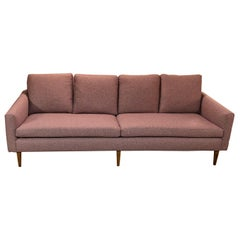 Vintage 1960s Lavender 4-Seat Sofa by Paul McCobb for Directional