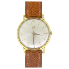 Vintage 1960s Lip Yellow Rose Gold Manual Wind Watch
