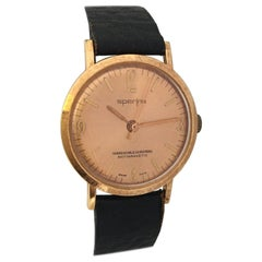 Vintage 1960s Rose Gold-Plated Automatic Watch