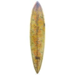 Vintage 1960s Soul Surfboards Single Fin Surfboard